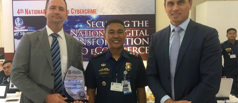 IFW Global awarded at 4th National Summit on Cybercrime 2017, Manila